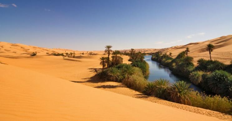 The Sahara Deserts